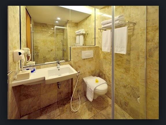 Contoh Desain Kamar Mandi ala Hotel Bintang 5