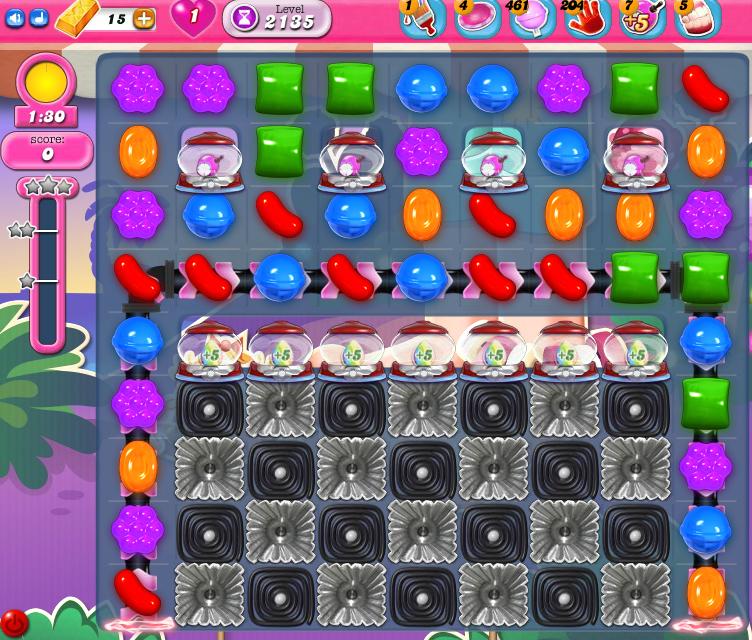 Candy Crush Saga level level 2135