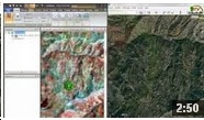 Linking the imagery displayed in ERDAS IMAGINE to Google Earth