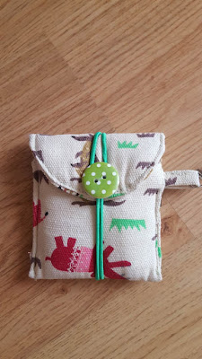 DIY clip on pouch - the easy way