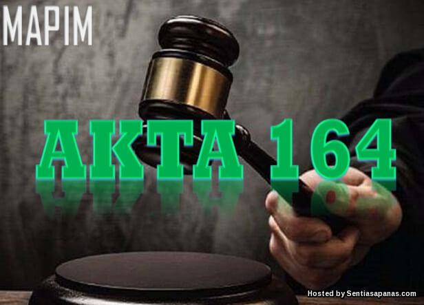 Pindaan Akta 164