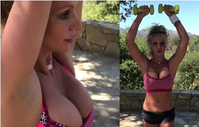 Britney-Spears-sexy-photos-video