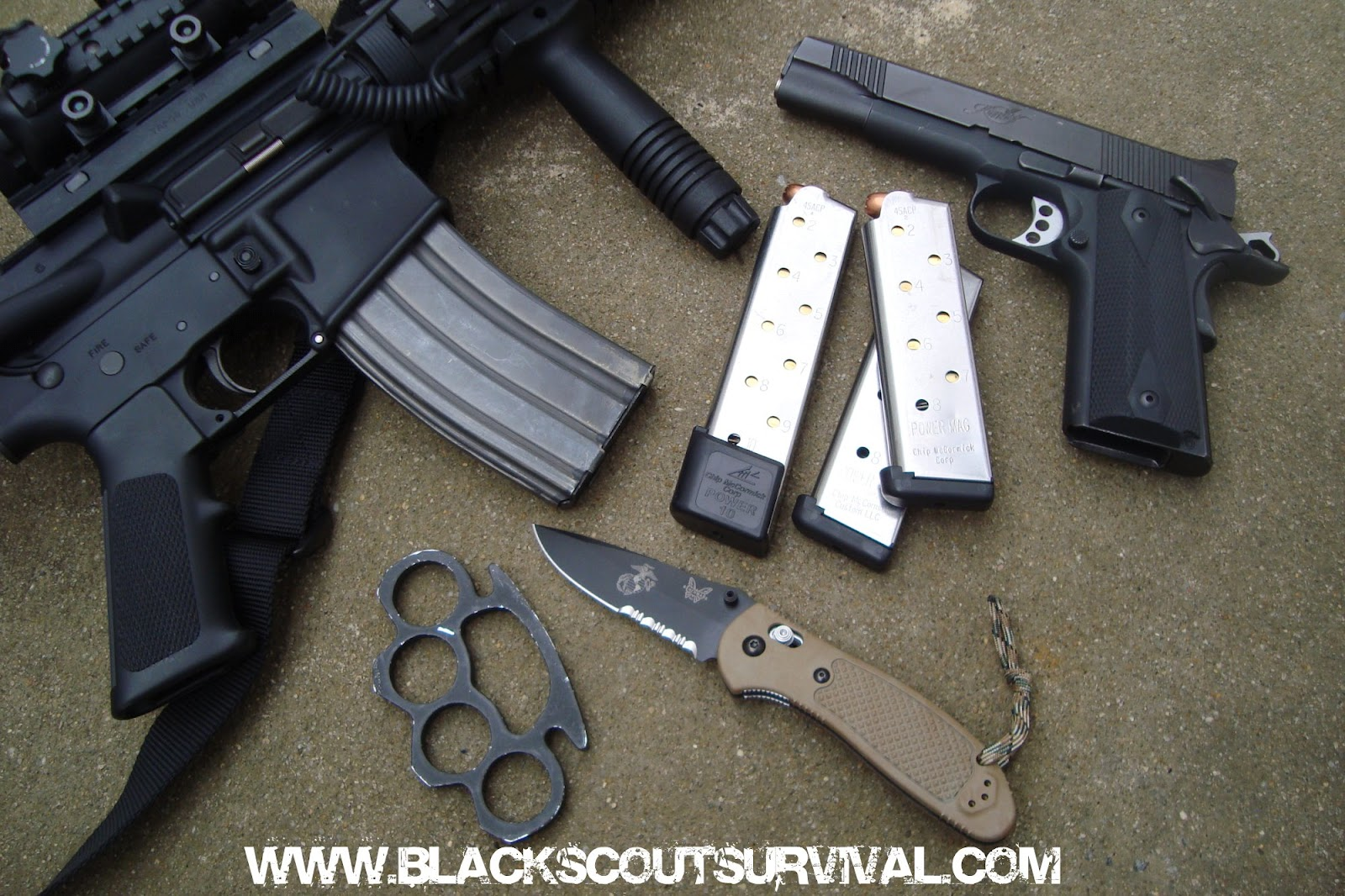 Bug Out Weapons Bag : Black scout survival building your bug out bag weapons