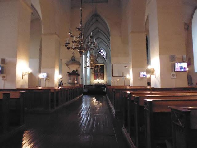 Interior de la Iglesia de San Olav (Tallinn) (@mibaulviajero)