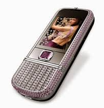 Handphone Termahal Nokia 8800 Arte With Pink Diamonds