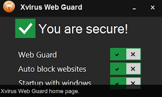 Download Xvirus Web Guard 2.0.4