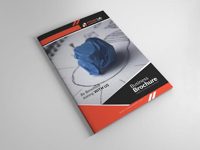 brochure, creative, free, professional, elegant, modern, best, minimal, minimalist, advert, brochure template