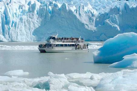 Safari Nautico pelo Parque Nacional Los Glaciares em El Calafate