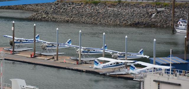Ketchikan Alaska water planes