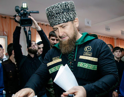 Chechnya's leader President Ramzan Kadyrov