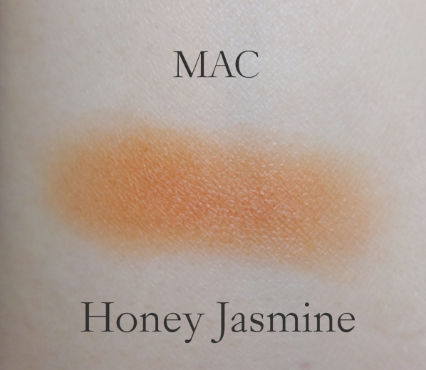 MAC Honey Jasmine swatch