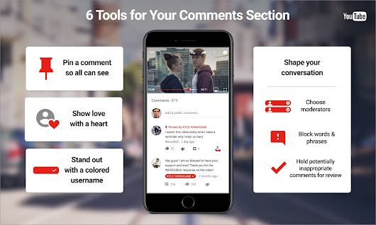 New tools to shape conversations in your comments section