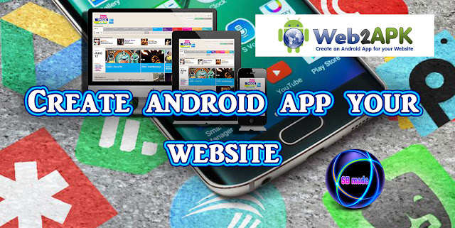 Create free android application your website