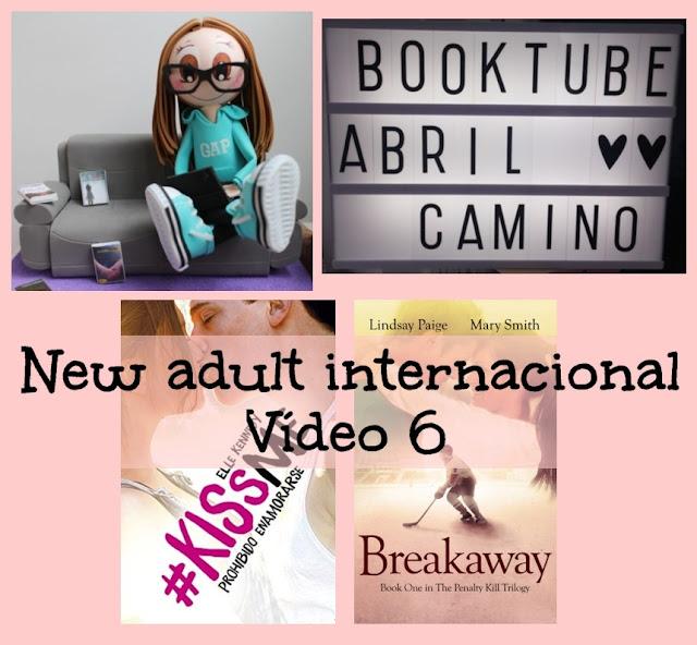 Booktube: ¡Lecturas para el verano! Romántica new adult internacional (Vídeo 6)
