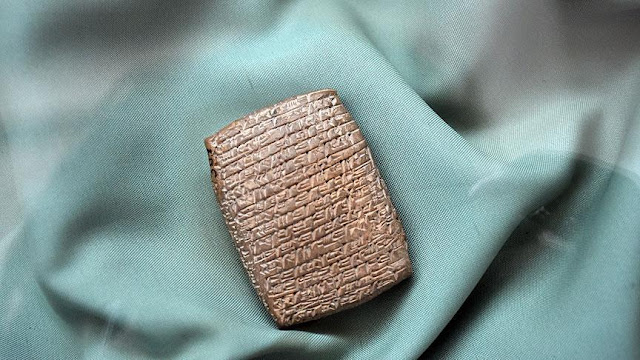 4,000 year old clay tablets discovered in central Turkey