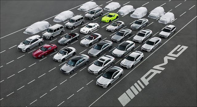Dòng xe Mercedes từ trước tới nay