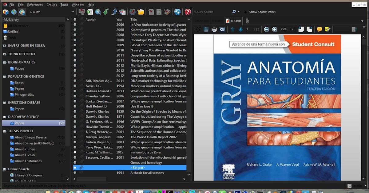 LIBRO ANATOMIA DE GREY PARA ESTUDIANTES (3ra Edicion Full ...