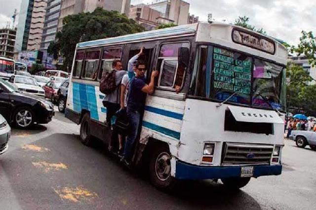 Pasaje mínimo aumentó a 2000 Bs en toda Caracas