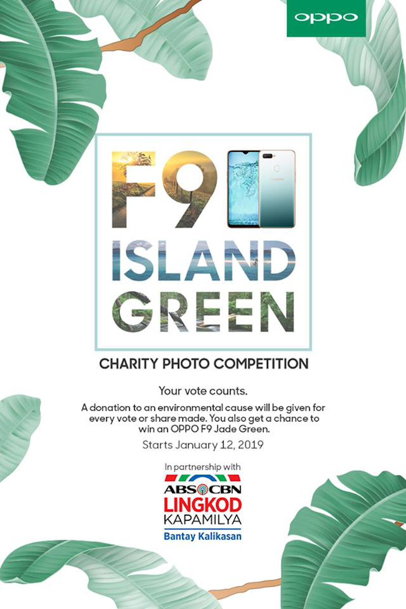 OPPO and ABS-CBN Bantay Kalikasan partnership charity photo competition