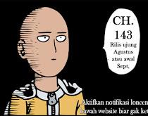 Komik Manga One Punch Man Chapter 143 Bahasa Indonesia