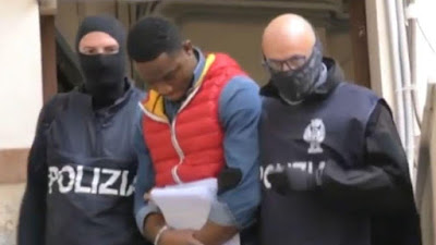 Crime: More Than 20 members of Nigerian mafia gang, Black Axe arrested in Italy
