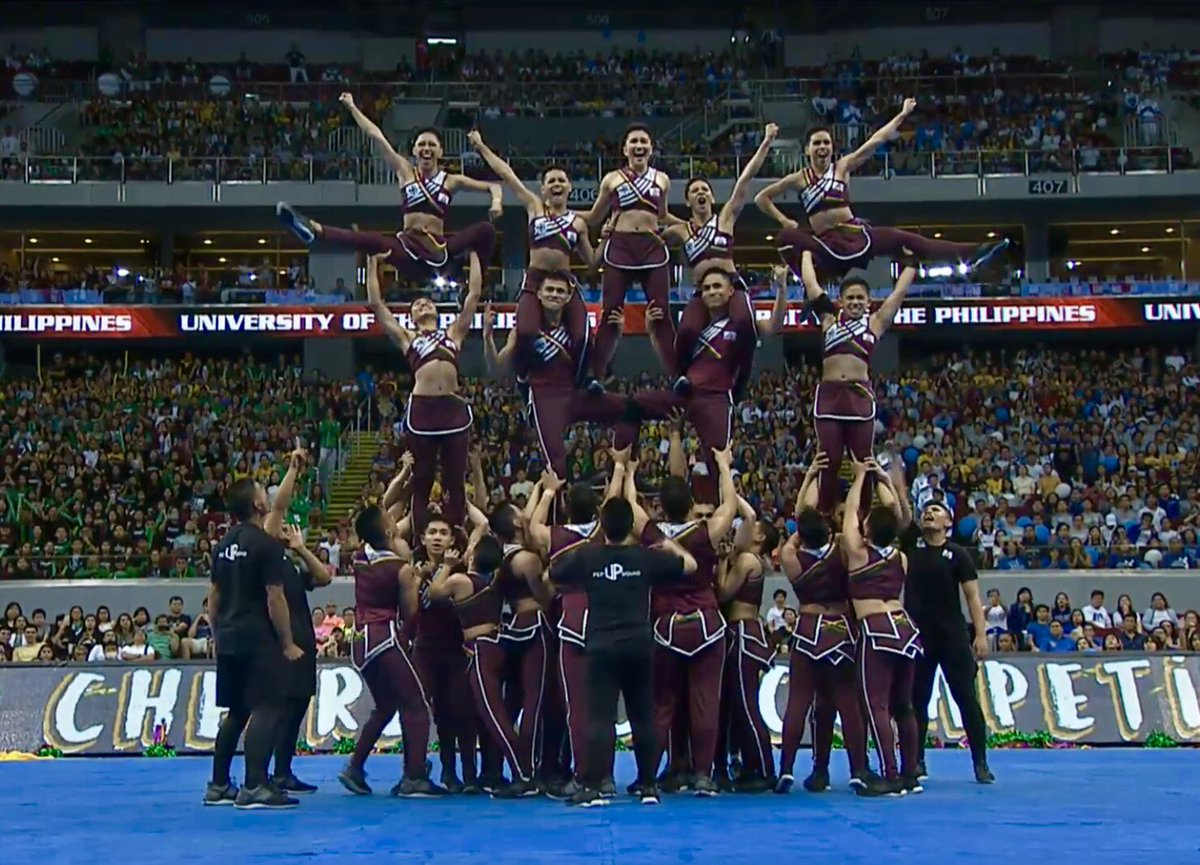 UP Pep Squad Cheerdance Competition CDC 2018 performance