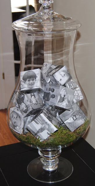 Glass With Sweet Photo Frame