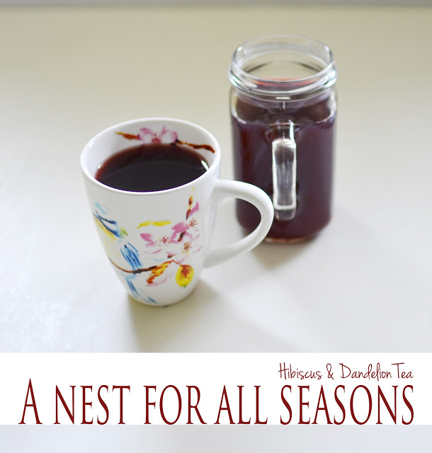 How to Make Dandelion Tea with Amy Renea at A Nest for All Seasons