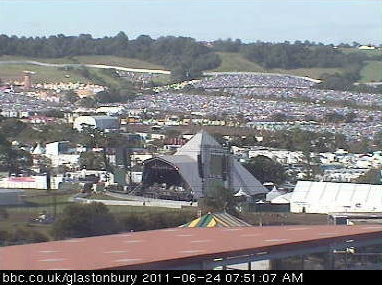 Glastonbury Pyramid Stage 24 Junio 2011