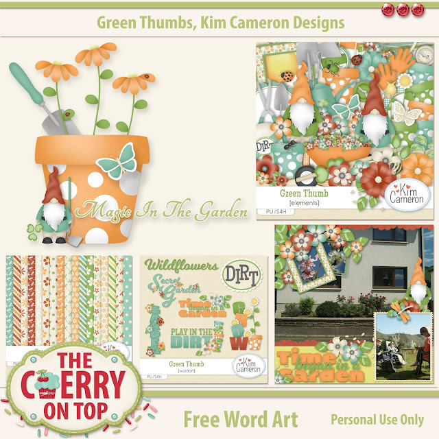 Green Thumbs Freebie from Kim Cameron