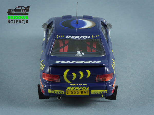 Trofeu Subaru Impreza 555, Winner NetworkQ Rally 1995