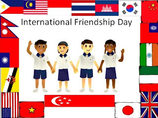 Happy international friendship wishes images