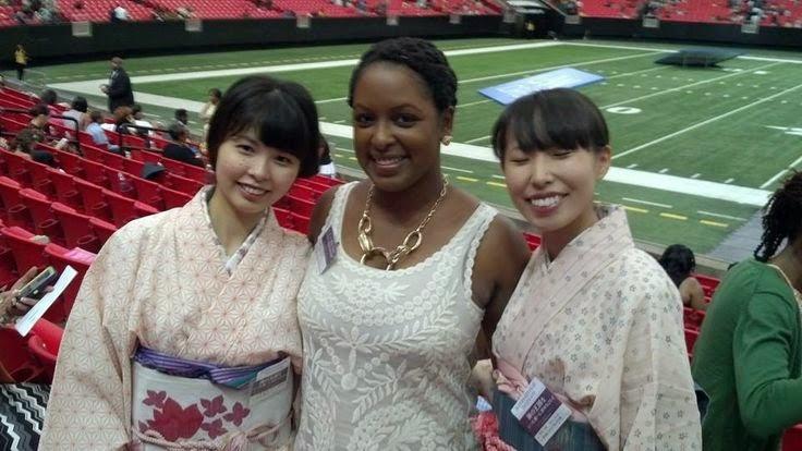 общением с сестрами из Японии