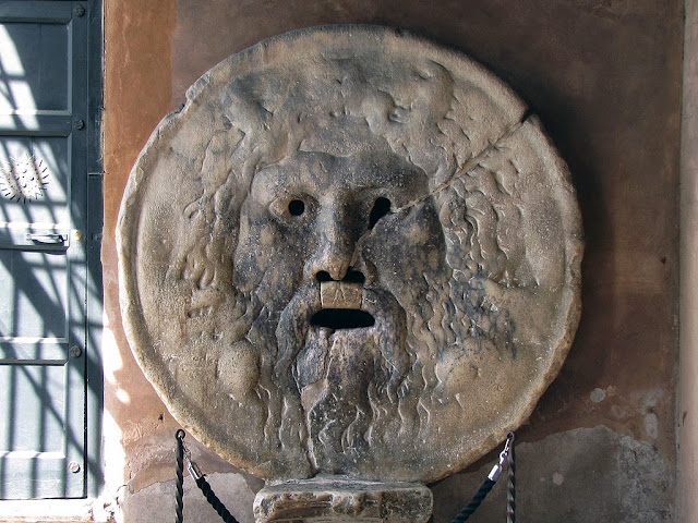 La Bocca della Verità, The Mouth of Truth, Santa Maria in Cosmedin, Rome