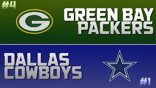 NFL Playoffs Packers Cowboys Madden Simulation
