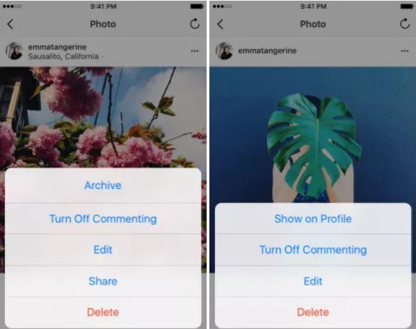 Cara Mengembalikan Foto yang Diarsipkan di Instagram