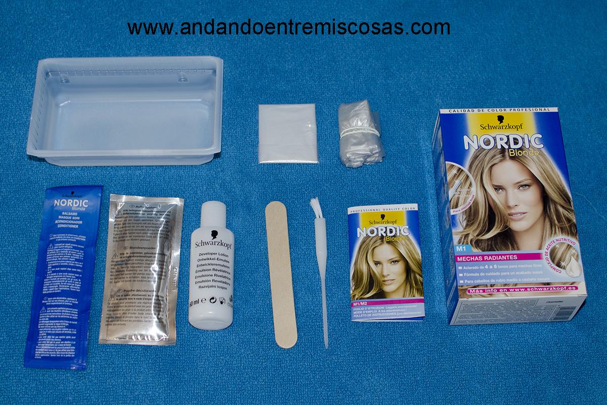 Nordic Blonde, kit