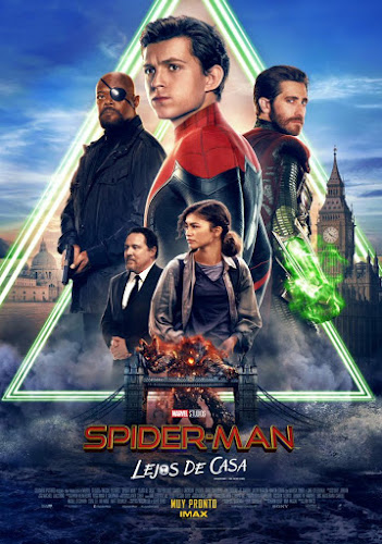 Spider-Man: Far from Home (BRRip 1080p Dual Latino / Ingles) (2019)