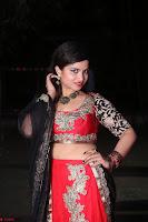 Sirisha Dasari in Red Ghagra Backless Choli ~  020.JPG