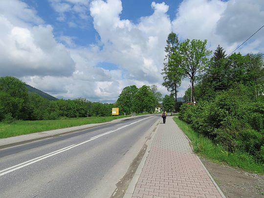 Wojewódzka szosa nr 968 w Kasince Małej.