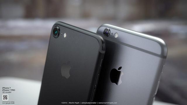 Sau xanh đậm Iphone 7 liệu có quay về với màu đen??