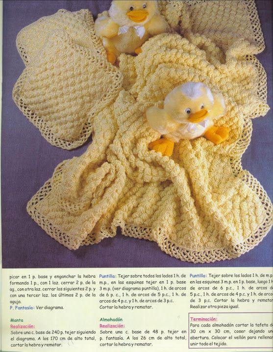 Lo Spazio Di Lilla Copertina All Uncinetto Per Neonato