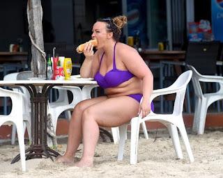 , Amazing! Former Big Brother star Caught Enjoying Hotdog On The Ibiza Beach, Latest Nigeria News, Daily Devotionals & Celebrity Gossips - Chidispalace