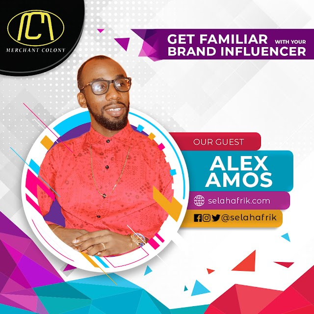 Role of Credibility and social proof in growing a successful business career - Alex Amos discusses on Get familiar with your Brand Influencer @selahafrik @alex_amos