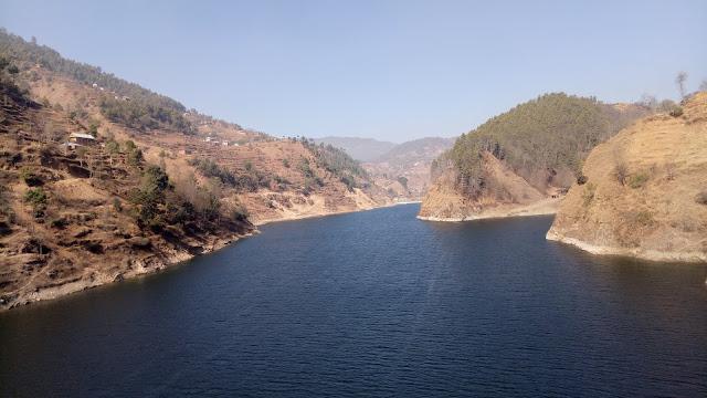 Indra Sarobar Lake markhu