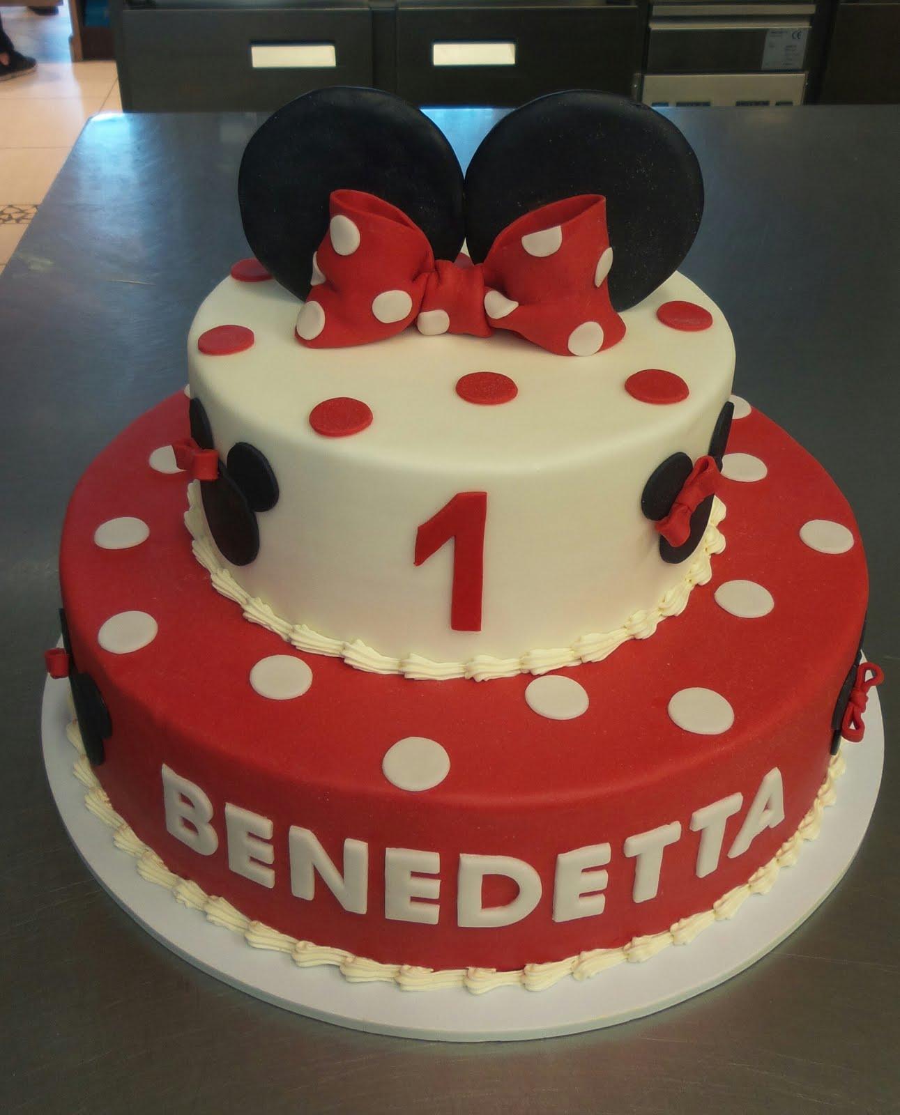 Pasticceria Bergamo Oscar Blog Torta Minnie Primo Compleanno