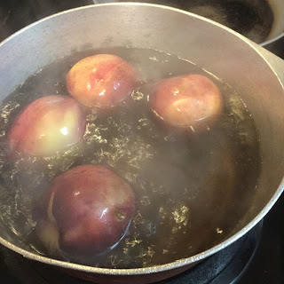 canning nectarines, preserving nectarines, how to can nectarines for pies,