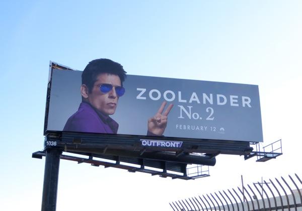 Ben stiller Zoolander 2 billboard