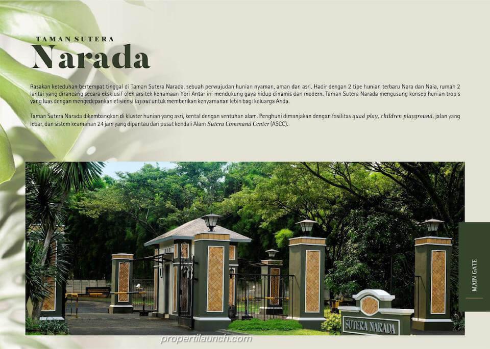 Gate Cluster Sutera Narada