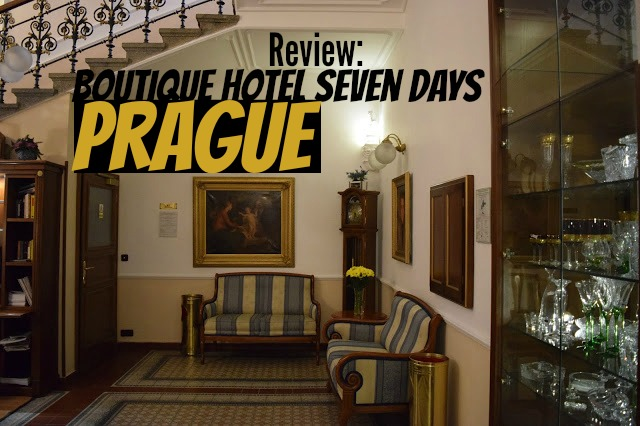 Review boutique hotel seven days prague travelling weasels for The boutique hotel prague